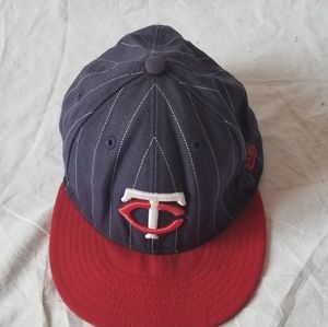 Minnesota Twins baseball hat size 7 3/8